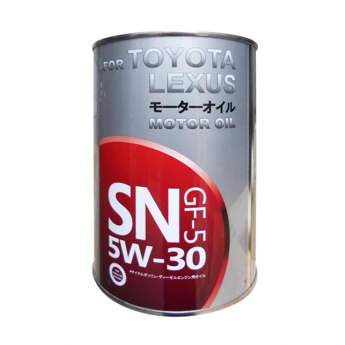 Масло моторное TOYOTA 5W-30, 1 л