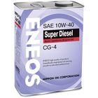 Моторное масло Eneos CG-4 10/40 полусинтетика,4 л