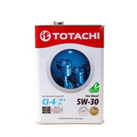 Моторное масло Totachi Eco Diesel Semi-Synthetic CI-4/CH-4/SL 5W-30, 6 л Ош