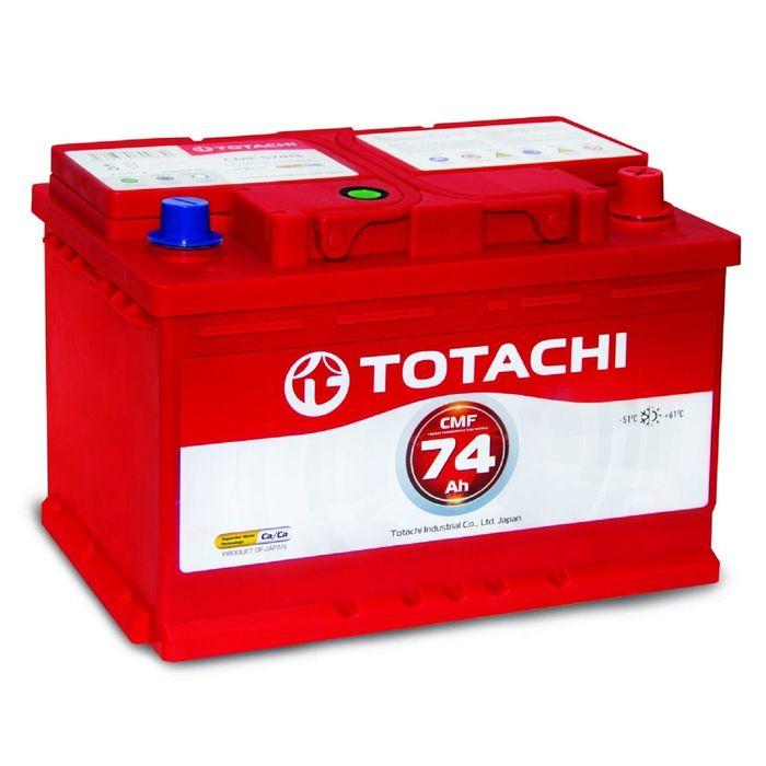 Аккумуляторная батарея Totachi CMF 57413 74 а/ч п.п