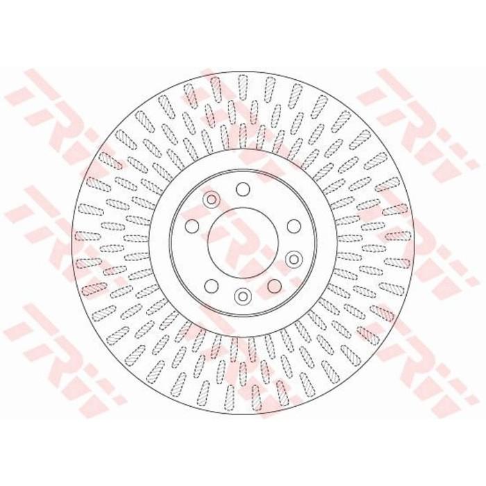 Диск тормозной TRW DF6427S