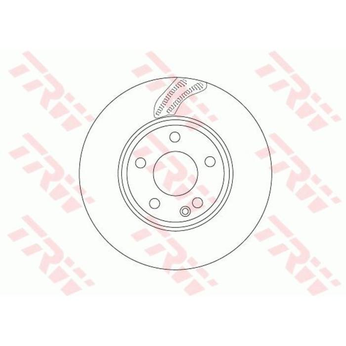 Диск тормозной TRW DF6591