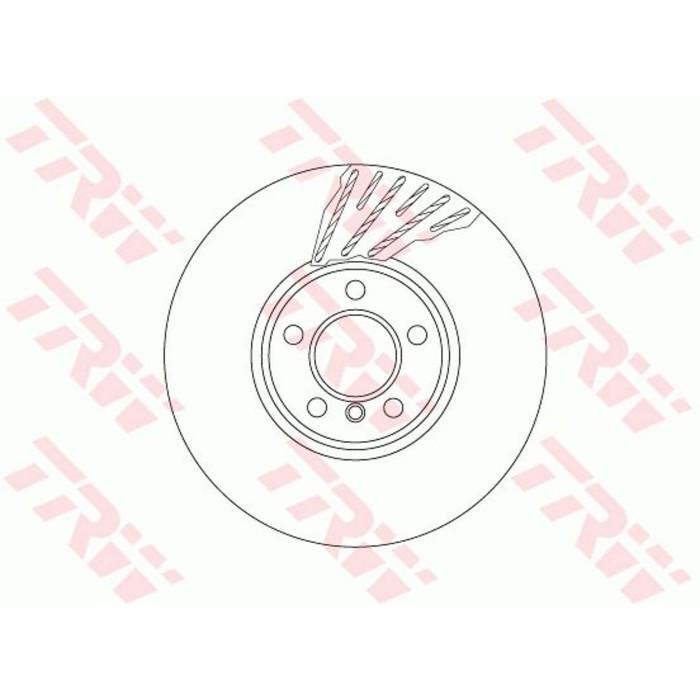 Диск тормозной TRW DF6611S