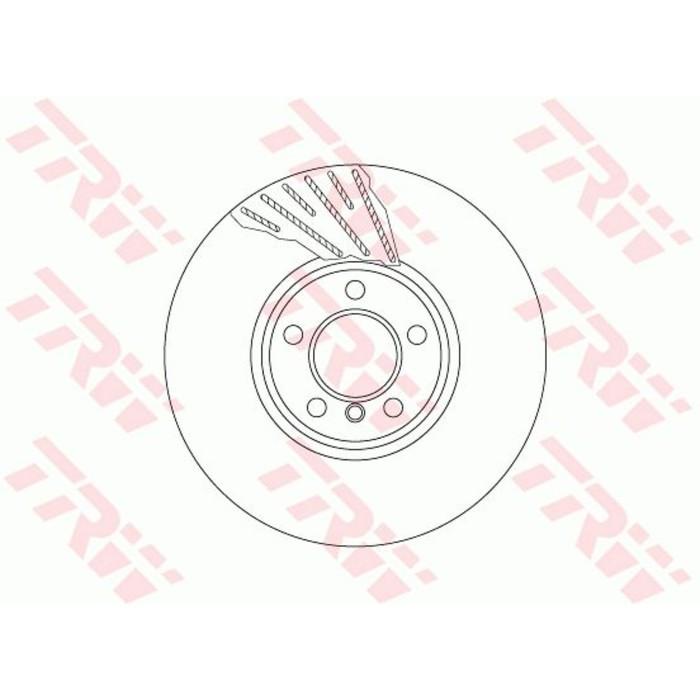 Диск тормозной TRW DF6612S
