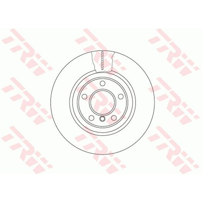 Диск тормозной TRW DF6616S