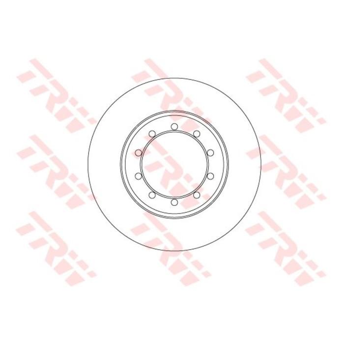 Диск тормозной TRW DF6711