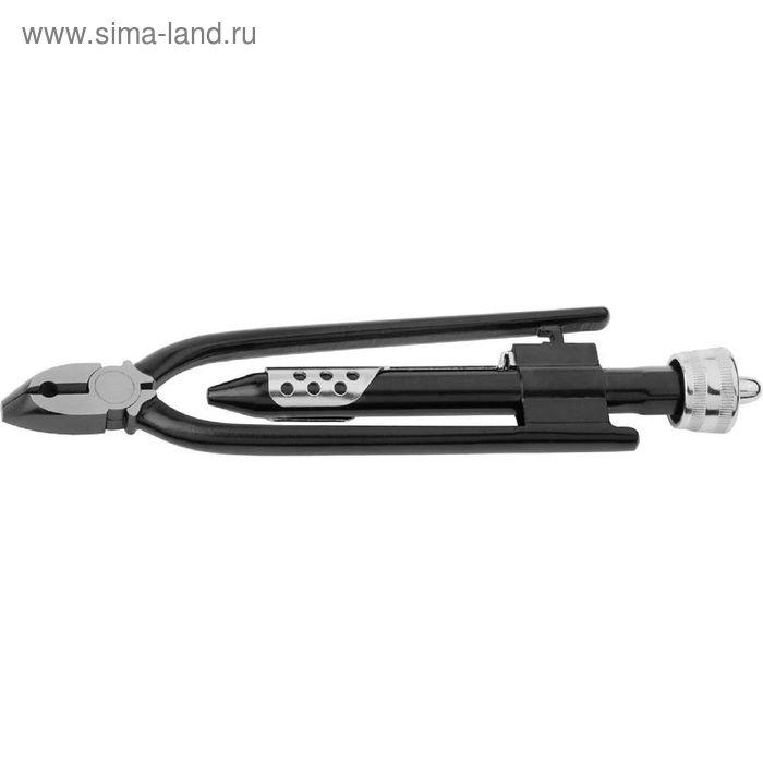 """Плоскогубцы """"ЗУБР"""" ЭКСПЕРТ, с кусачками, для скручивания проволоки, автоматические, 250 мм"""
