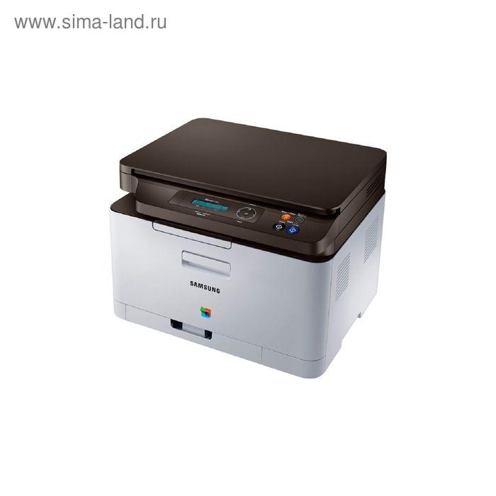 МФУ, лазерная цветная печать Samsung SL-C480FW, А4, WiFi