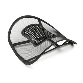 Ортопедическая спинка-подушка с горизонтальным массажером на сиденье 38 x 39 см