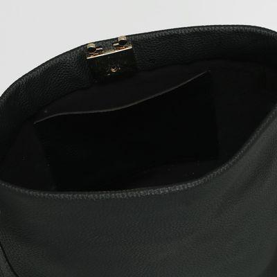 Сумка женская на замке, 1 отдел, регулируемый ремень, цвет чёрный