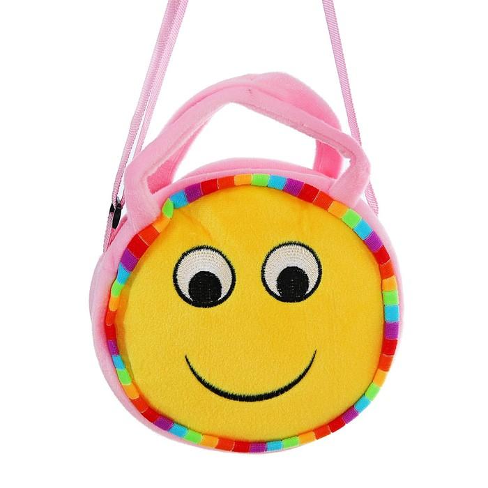 Мягкая сумочка «Смайлик», улыбка