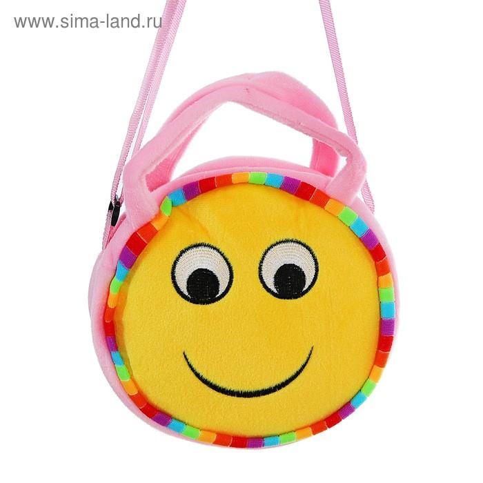 "Мягкая сумочка ""Смайлик"" улыбка"
