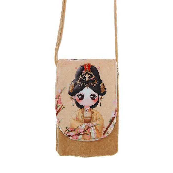 Мягкая сумочка «Гейша»