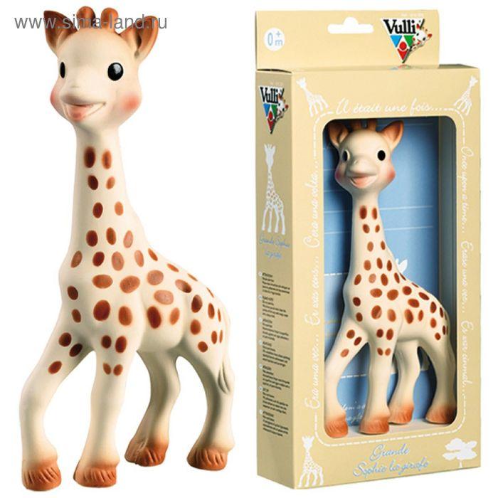 Развивающая игрушка Vulli «Жирафик Софи», большой, от 0 мес.