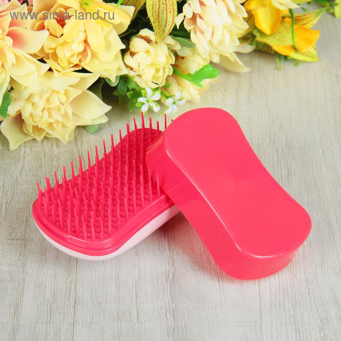 Щётка для распутывания волос, цвет розовый/фуксия