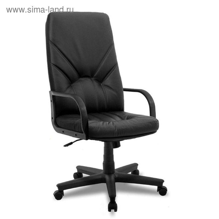 Кресло руководителя Manager DF PLN V4 черный, искусственная кожа