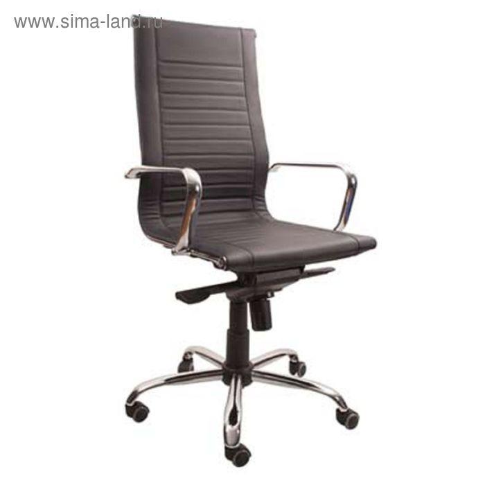 Кресло Top gtp Ch1 WRS-S PU01 черный, ЭкоКожа