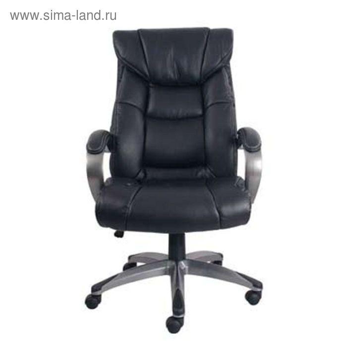 Кресло руководителя Arizona PBN15 PU01 черный, ЭкоКожа