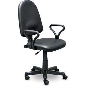 Кресло Prestige Lux gtpPN/ Z11 черный, искусственная кожа