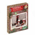 Сервировка новогоднего стола «Яркий праздник», набор для шитья, 16,5 × 22,5 × 3,5 см
