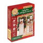 Сервировка новогоднего стола «Уютный праздник», набор для вязания, 16,7 × 22,8 × 5,6 см