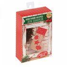Новогодние носки для подарков «Звездные радости», набор для шитья, 10,5 × 16,5 × 5 см
