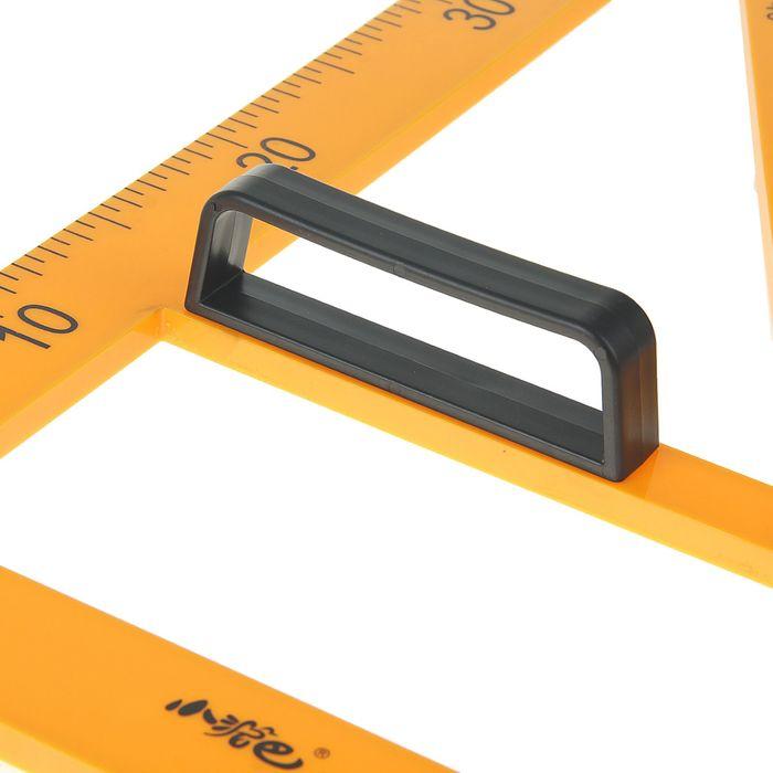 Треугольник для школьной доски, с держателем, прямоугольный, 30°
