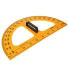 Транспортир для школьной доски, с держателем, 180°