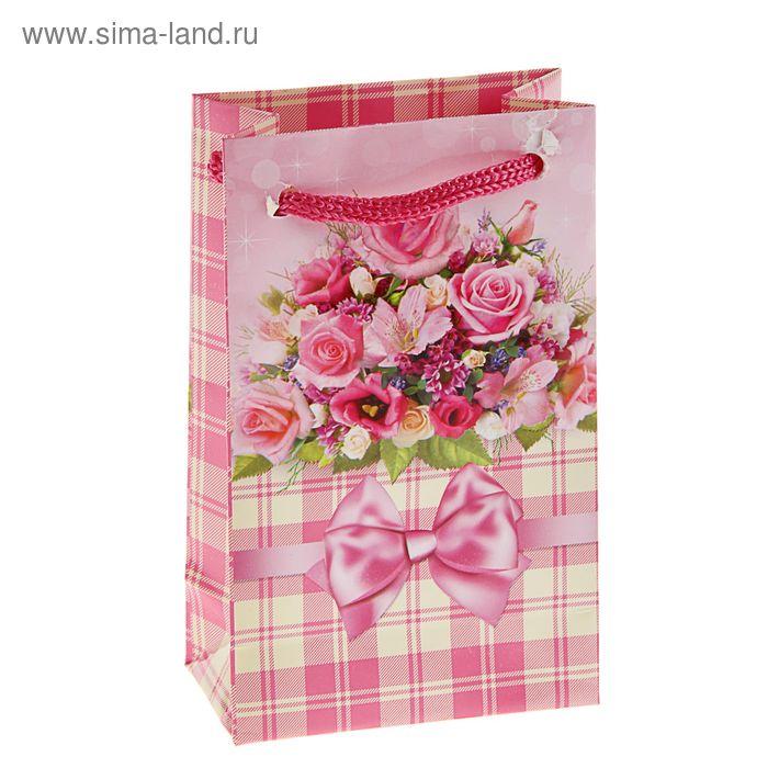 """Пакет подарочный """"Свидание"""" 12,3 x 7,4 x 4 см"""