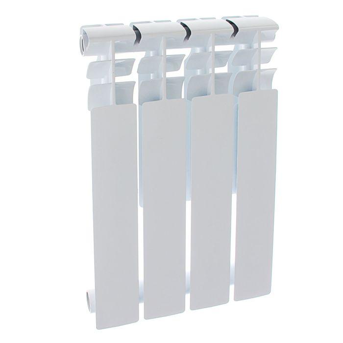 Радиатор алюминиевый Оазис, литой, 500х80, 4 секции