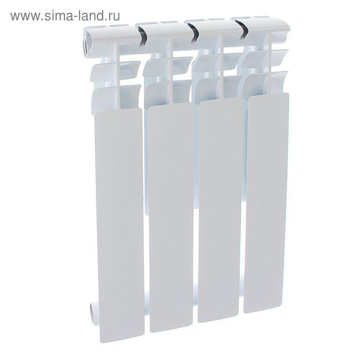 Радиатор Оазис, алюминиевый, литой, 500/80, 4 секции