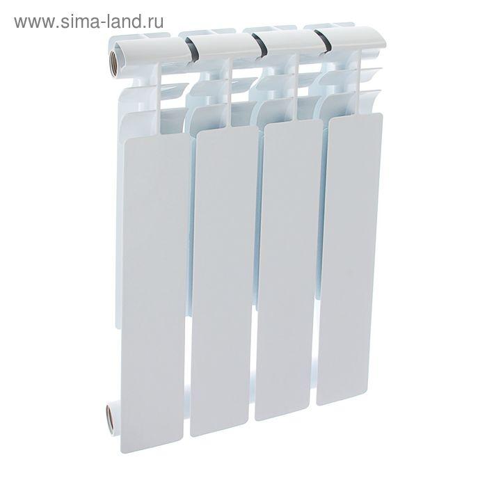 Радиатор Оазис, биметаллический 500/80, 4 секции