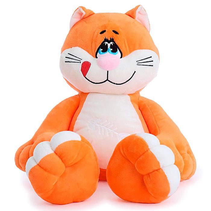 Мягкая игрушка «Кот Васька», цвета МИКС - фото 4471678