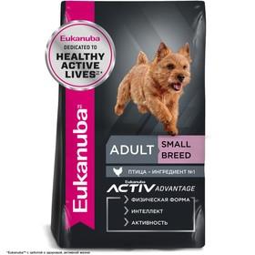 Сухой корм EUK Dog для взрослых собак мелких пород, 3 кг.