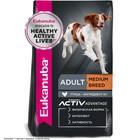 Сухой корм EUK Dog  для взрослых собак средних пород, 3 кг