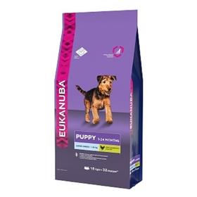 Сухой корм EUK Dog для щенков крупных пород, 15 кг.