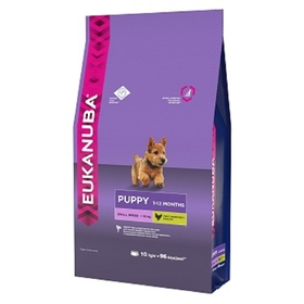 Сухой корм EUK Dog для щенков мелких пород, 10 кг.