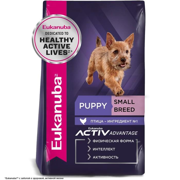 Сухой корм EUK Dog для щенков мелких пород, 10 кг