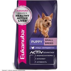 Сухой корм EUK Dog для щенков мелких пород, 3 кг.