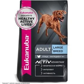 Сухой корм EUK Dog для взрослых собак крупных пород, 15 кг.