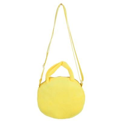 Мягкая сумочка «Смайл», глазки сердечками