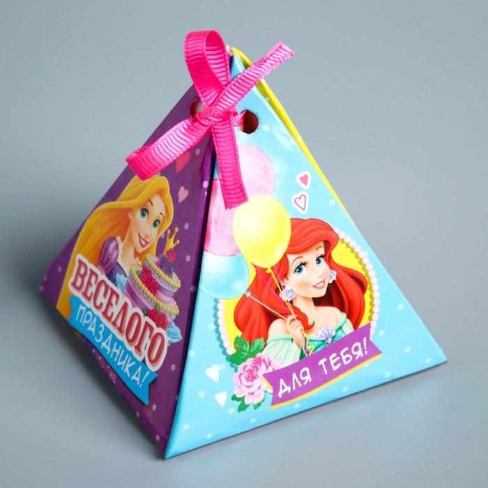 """Гадание-пожелание в коробке """"Для тебя"""", Принцессы, 8,5 х 9,5 см"""