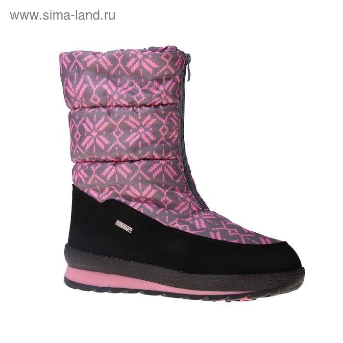 Сапоги для девочек SC-26446 (серый/розовый) (р. 32)