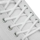 Шнурки для обуви круглые, ширина 3мм, 180см, цвет белый