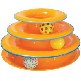 """Игрушка Petstages """"Трек"""" для кошек  3 этажа"""