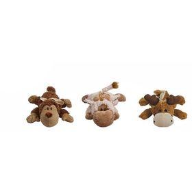 """Игрушка Kong """"Кози Натура""""  для собак  (обезьянка, барашек, лось) плюш, средние 20 см"""