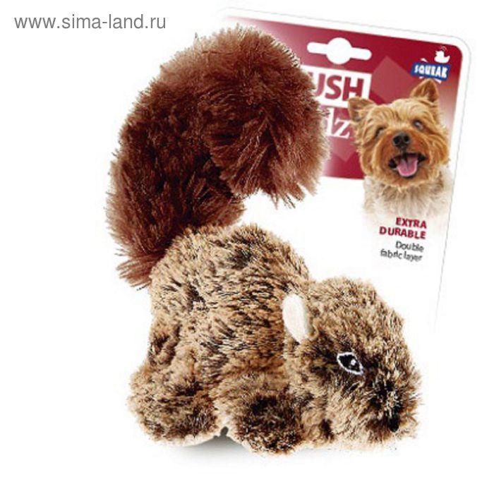 Игрушка GiGwi  для собак  16 см с пищалкой
