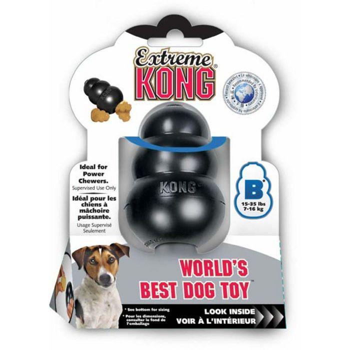 """Игрушка Kong Extreme """"КОНГ""""  для собак очень прочная, средняя, 8 х 6 см"""