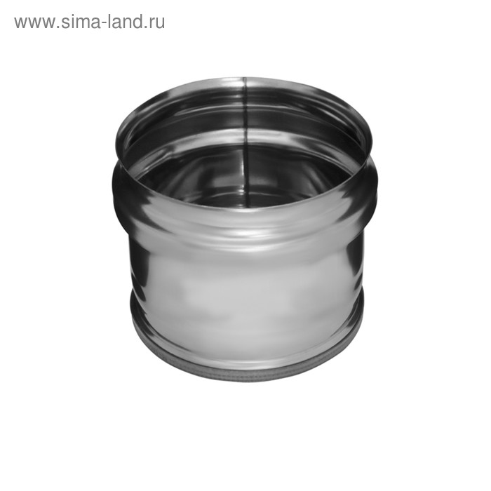Заглушка Феррум М внешняя нержавеющая 430/0,5 мм, d 130