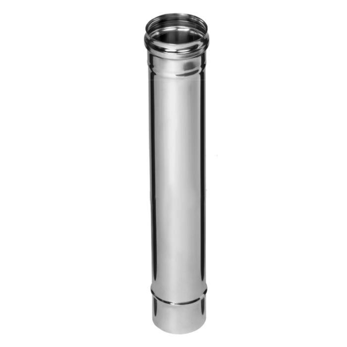 Дымоход Феррум нержавеющий 430/0,5 мм, d 130 мм, L=0,5м